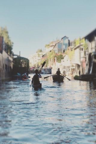 Séminaire ecoresponsable kayak Seine